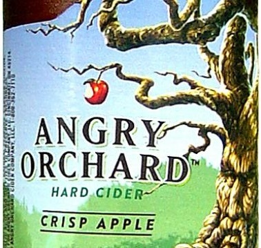 Sam Adams Orchard Angry Apple beer Label Full Size