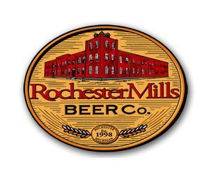 Rochester Mills Michigan Maple Brown beer Label Full Size