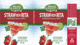 Bud Light Straw-Ber-Rita beer