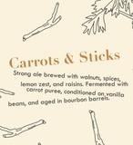 Jackie O's Carrots & Sticks beer