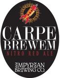 Empyrean Carpe Brewem Nitro Red Ale Beer
