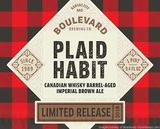 Boulevard Plaid Habit Beer