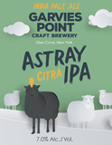 Garvies Point Astray Citra beer