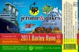 Terrapin Jerome & Spikes 2011 beer