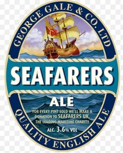 Gales Seafarer's Ale beer Label Full Size