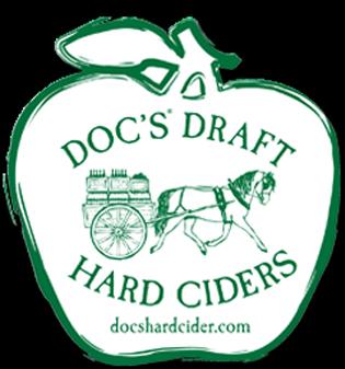 Doc's Draft Dry Hopped Cider beer Label Full Size