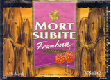 Mort Subite Framboise Lambic Beer