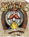 Tamarack Old Stache Whiskey Barrel Porter beer