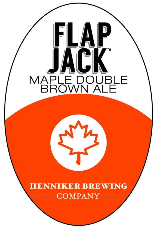 Henniker Flap Jack beer Label Full Size