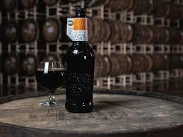 Goose Island Bourbon County Brand Midnight Orange Stout 2018 beer Label Full Size