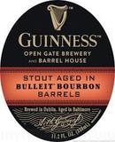 Guinness Stout aged in Bulleit Bourbon Barrels beer