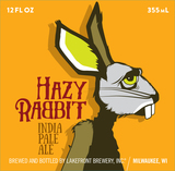 Lakefront Hazy Rabbit Beer