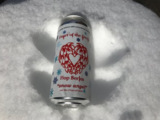 """Bull and Barrel Heart of the Devil """"Snow Angel"""" beer"""