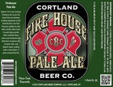 Cortland Fire House Pale Ale beer