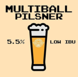 Yellow Springs Pinball Pilsner Beer