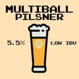 Yellow Springs Pinball Pilsner beer