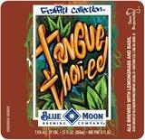 Blue Moon Tongue Thai-ed beer