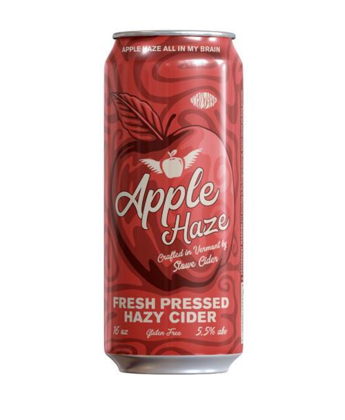 Stowe Apple Haze Cider beer Label Full Size