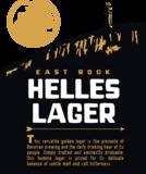 East Rock Helles Lager beer