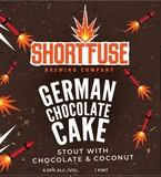 Short Fuse German Chocolate Cake beer