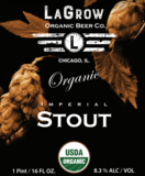 LaGrow Organic Imperial Stout beer