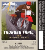 Arcadia Thunder Trail beer