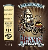 4 Hands Cast Iron Oatmeal Brown Beer