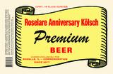 Pollyanna Roselare Anniversary Kölsch Beer