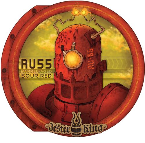 Jester King RU55 beer Label Full Size