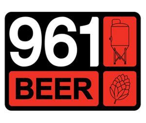 961 Lager beer Label Full Size