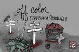 Off Color Staveyard Framboise beer