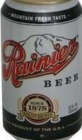 Rainier Lager beer Label Full Size