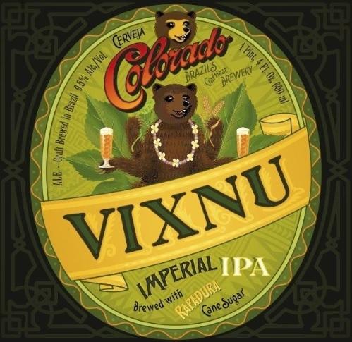 Colorado Vixnu beer Label Full Size