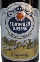 Schneider Hefe Weiss beer Label Full Size