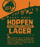 East Rock Double Dry-Hopped Hopfen beer