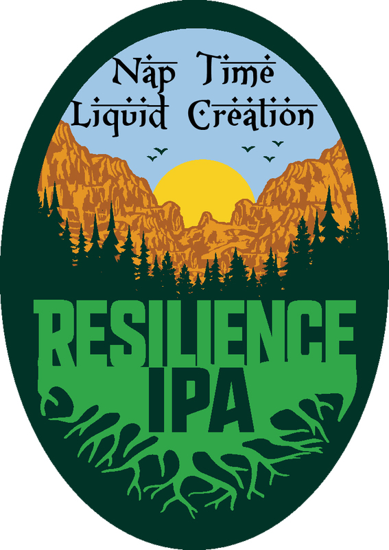 Nap Time - Resilience IPA beer Label Full Size