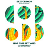 Sketchbook Hop Thirsty Void beer