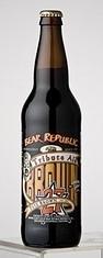 Bear Republic Peter Brown Tribute Brown Ale beer Label Full Size