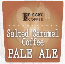 Moeller Brew Barn - Salted Caramel Coffee Ale beer Label Full Size