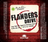 Green Flash Flanders Drive beer