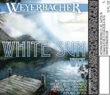 Weyerbacher White Sun WIT beer