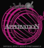 Jackie O's & Side Project Brewing Port Barrel Appervation beer