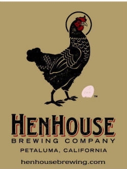HenHouse Oyster Stout beer Label Full Size