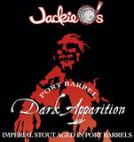 Jackie O's Port Barrel Dark Apparition beer