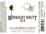 Allagash Midnight Brett Beer