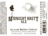 Allagash Midnight Brett beer