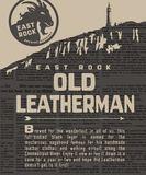 East Rock Old Leatherman beer