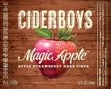 Stevens Point Cider Boys Magic Apple beer