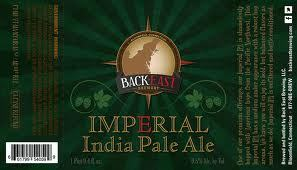 Back East Imperial IPA beer Label Full Size
