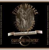 Crankers Fifth Voyage Coconut Porter beer